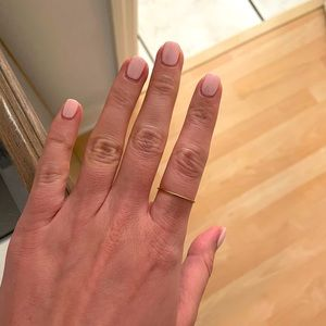 Vrai and Oro 14K Stacker Ring - Size 10